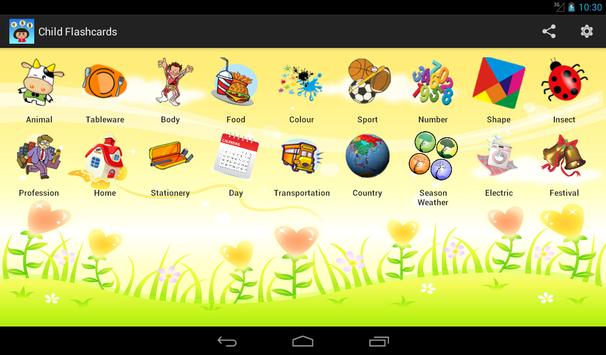 Child Flashcards screenshot 11