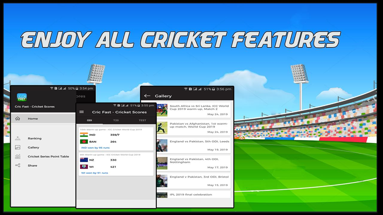 Cric Fast - Live Cricket Score & Update for Android - APK