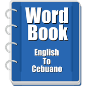 Word Book English To Cebuano icon