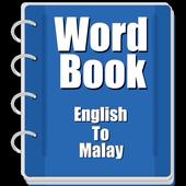 Word Book English To Malay icon