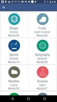 Word Book English To Malay screenshot 1