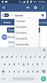 English To Zulu Dictionary screenshot 1
