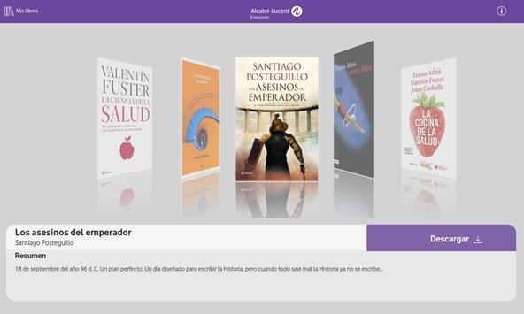 Biblioteca Alcatel·Lucent Enterprise (ALE) screenshot 4