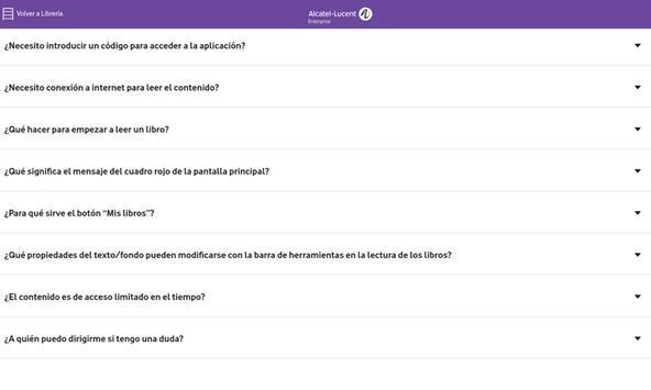 Biblioteca Alcatel·Lucent Enterprise (ALE) screenshot 7