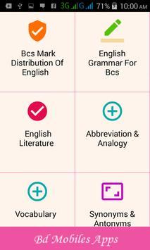Bcs Preparation English and Bank Job Exam screenshot 2