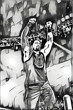 Roman Reigns Wallpaper poster