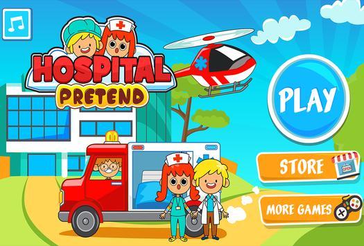 My Pretend Hospital - Kids Hospital Town Life تصوير الشاشة 4
