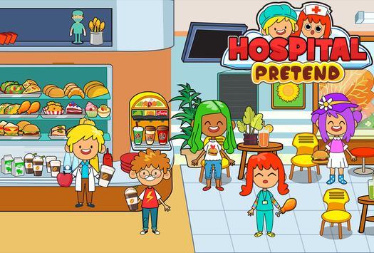 My Pretend Hospital - Kids Hospital Town Life تصوير الشاشة 2
