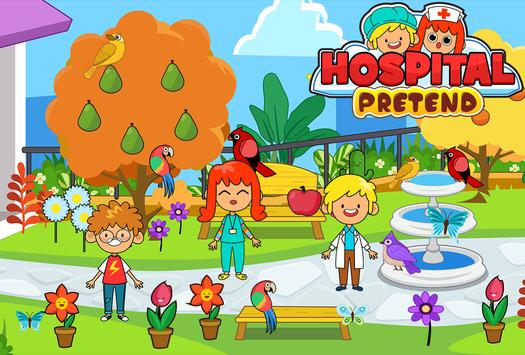 My Pretend Hospital - Kids Hospital Town Life تصوير الشاشة 3
