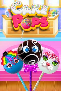 Cake Pop Maker - Cooking Games poster