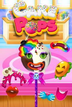 Cake Pop Maker - Cooking Games screenshot 1