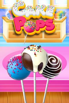 Cake Pop Maker - Cooking Games screenshot 5