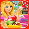 Supermarket Grocery Store Girl - Supermarket Games ícone