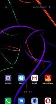 Ribbons Live Wallpaper screenshot 2