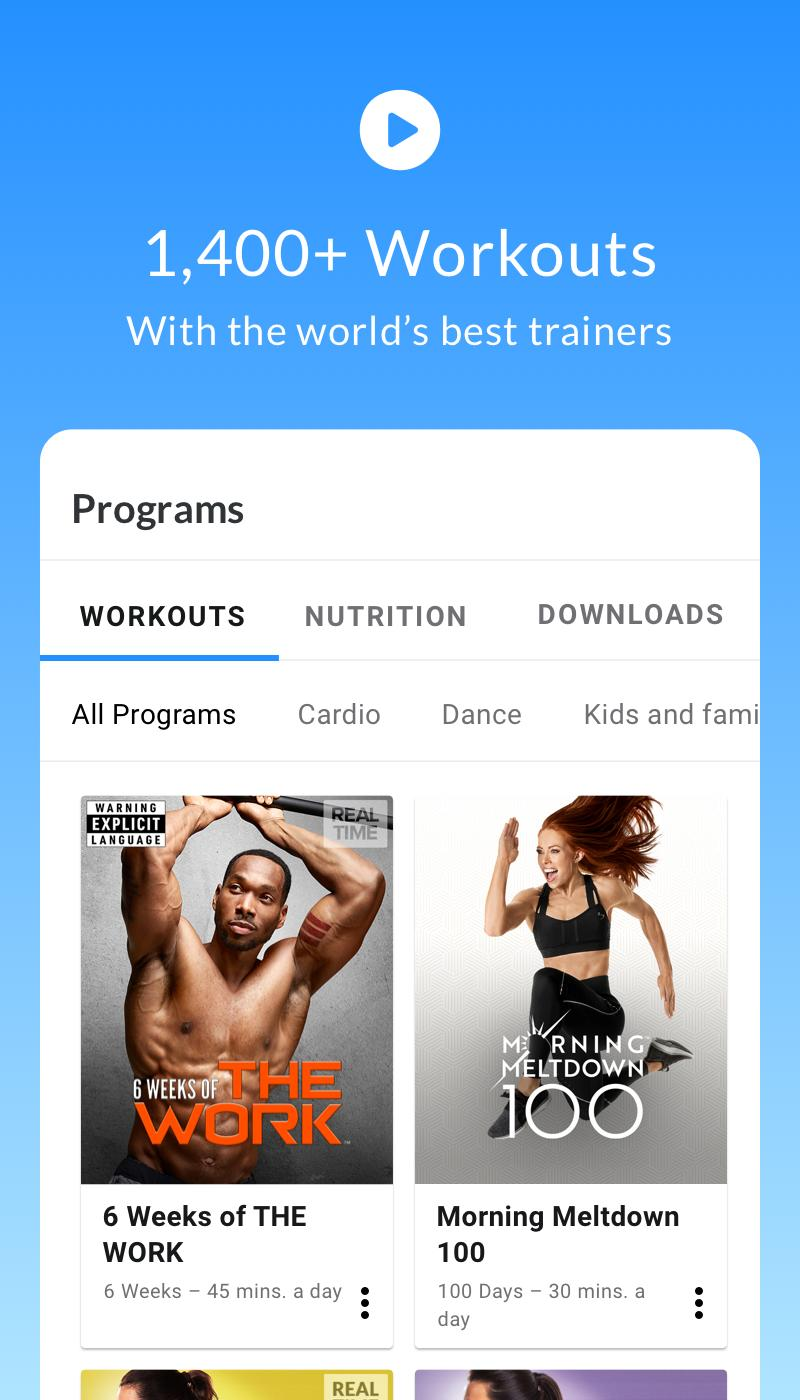 Beachbody For Android Apk Download