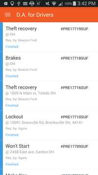 Dispatch Anywhere for Drivers screenshot 3
