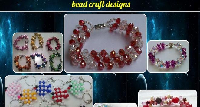 bead craft design poster