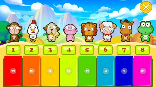 Baby Animals Piano For Kids screenshot 2