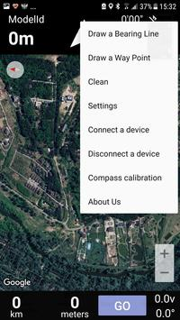 Bearing (Azimuth) Navigation स्क्रीनशॉट 1