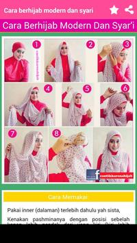Tutorial Hijab Modern screenshot 2