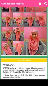 Tutorial Hijab Modern screenshot 3