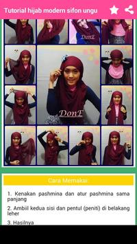 Tutorial Hijab Modern screenshot 5