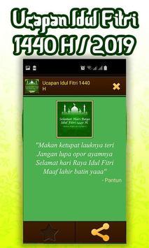 Ucapan Idul Fitri 1440 H/2019 screenshot 3