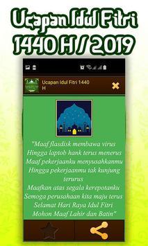 Ucapan Idul Fitri 1440 H/2019 screenshot 7