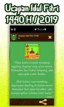 Ucapan Idul Fitri 1440 H/2019 screenshot 4