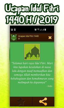 Ucapan Idul Fitri 1440 H/2019 screenshot 6