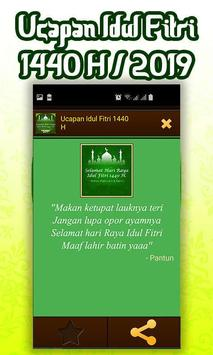 Ucapan Idul Fitri 1440 H/2019 screenshot 9