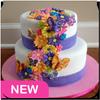 Beautiful cake design icon