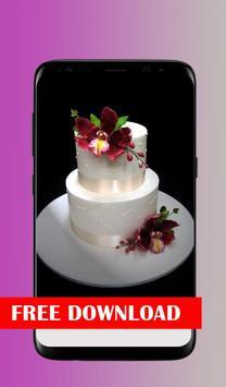 Beautiful cake design poster