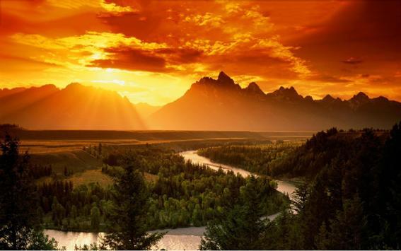beautiful landscapes screenshot 2
