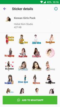 Beautiful Sexy Girls Stickers For WhatsApp screenshot 2
