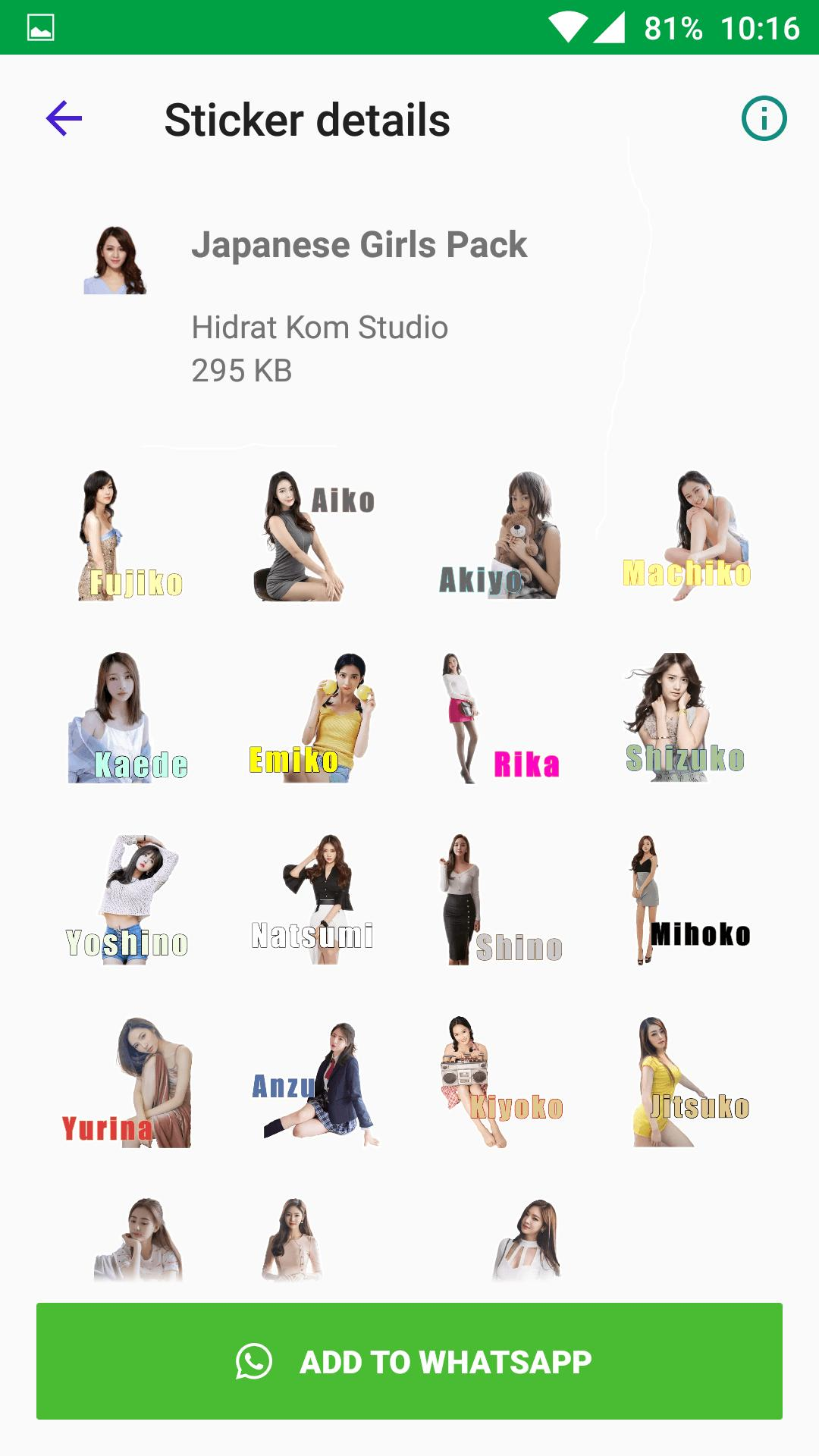 Beautiful Sexy Girls Stickers For Whatsapp For Android Apk