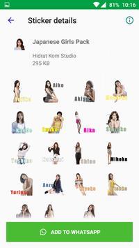 Beautiful Sexy Girls Stickers For WhatsApp screenshot 4