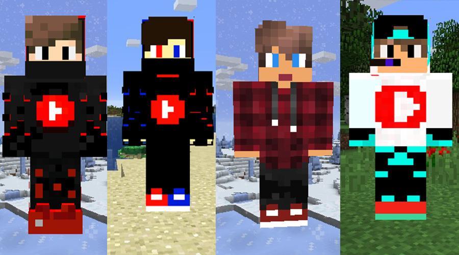 skins de youtubers