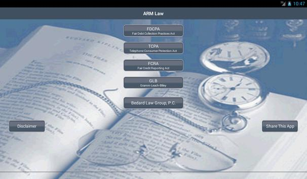 ARM Law screenshot 4