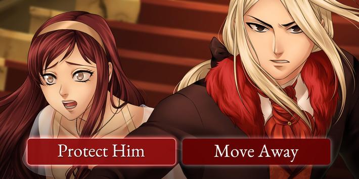 Moonlight Lovers : Vladimir - Dating sim / Vampire screenshot 1