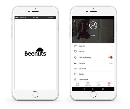 Beenuts - Online Shopping poster