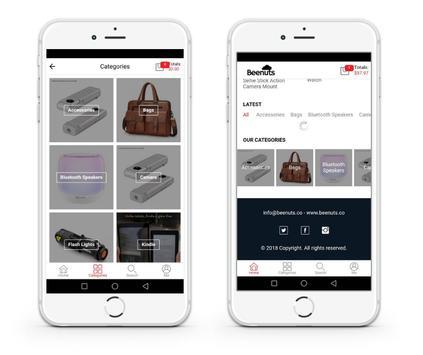 Beenuts - Online Shopping screenshot 1