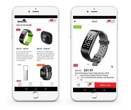 Beenuts - Online Shopping screenshot 2
