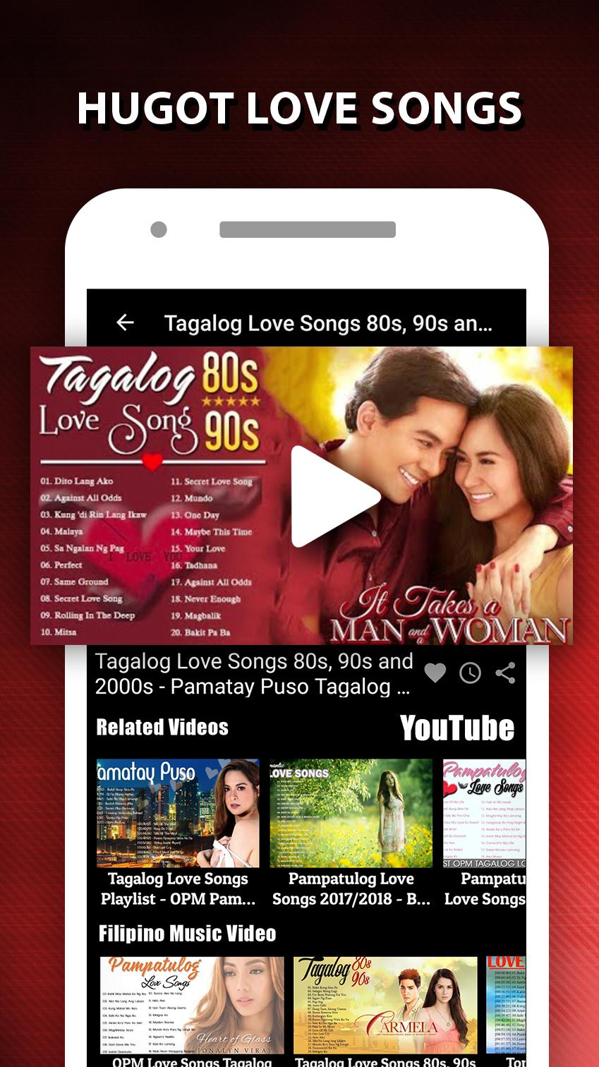 OPM, TAGALOG LOVE SONGS: PAMPATULOG LOVE SONG for Android