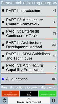 TOGAF 9.2 Foundation Exam Preparation Trainer screenshot 1