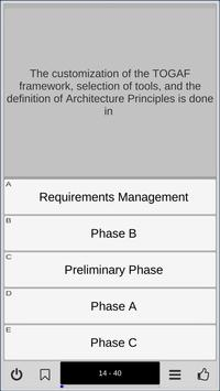 TOGAF 9.2 Foundation Exam Preparation Trainer screenshot 4