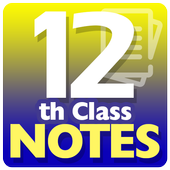 12th Class Notes icon