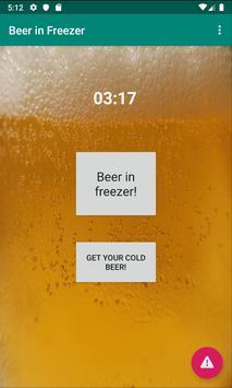 Beer in Freezer! poster