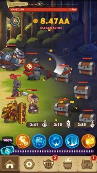 5 Schermata Almost a Hero - Idle RPG Clicker