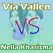 Lagu campuran Via dan Nella OFFLINE icon